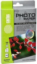 Фотобумага Cactus CS-GA618050 A6/180г/м2/50л (белый)