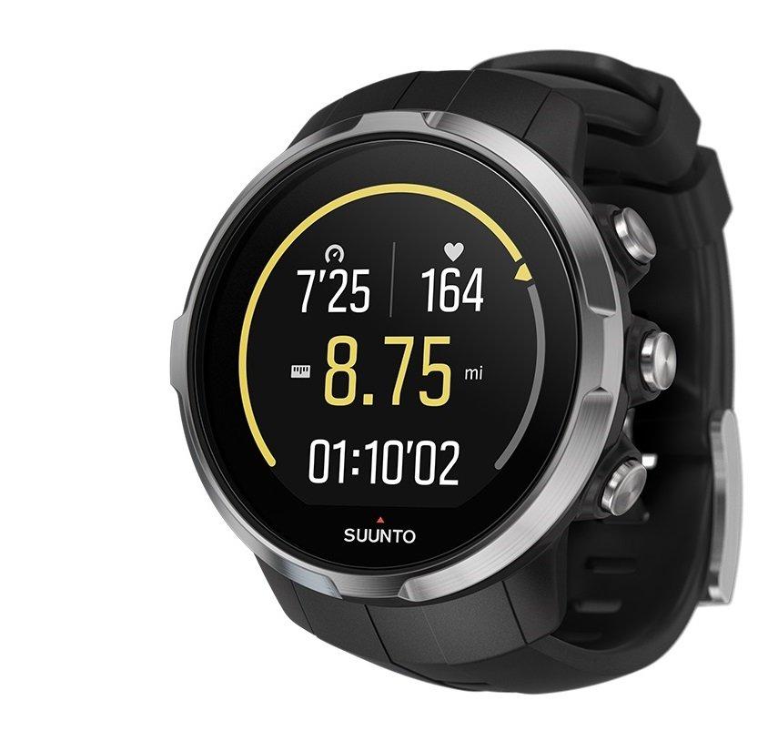 спортивные часы Suunto Spartan Sport + HR (черные, black)