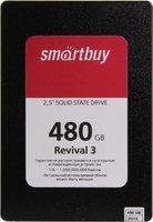 Накопитель SSD 2.5'' SmartBuy SB480GB-RVVL3-25SAT3 Revival 3 480GB SATA-III TLC 3D NAND PS3111 64L 500/525 7mm Bulk
