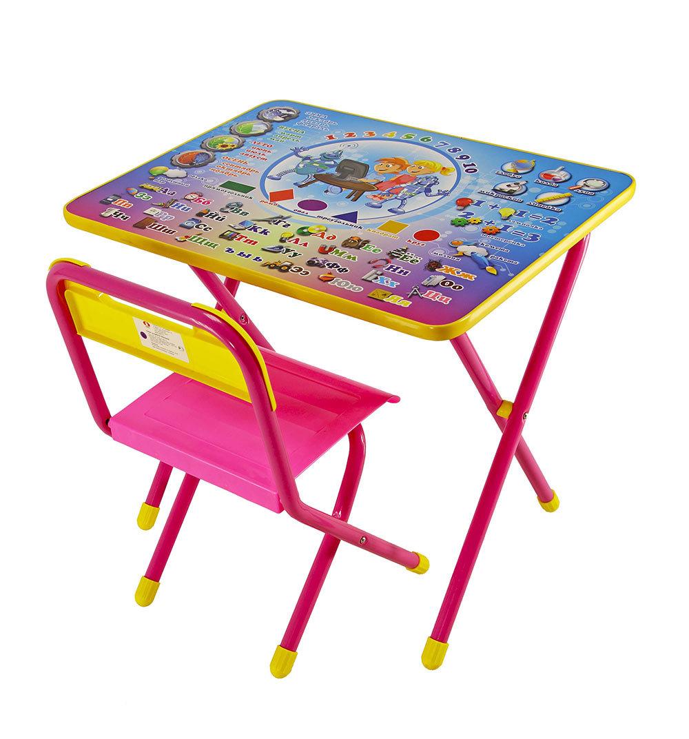 Набор детской мебели Дэми Электроник, цвет: розовый
