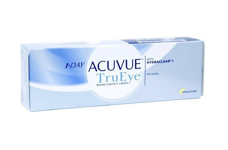 Контактные линзы Acuvue 1-Day Acuvue TruEye 30 шт (9.0, -5.25)