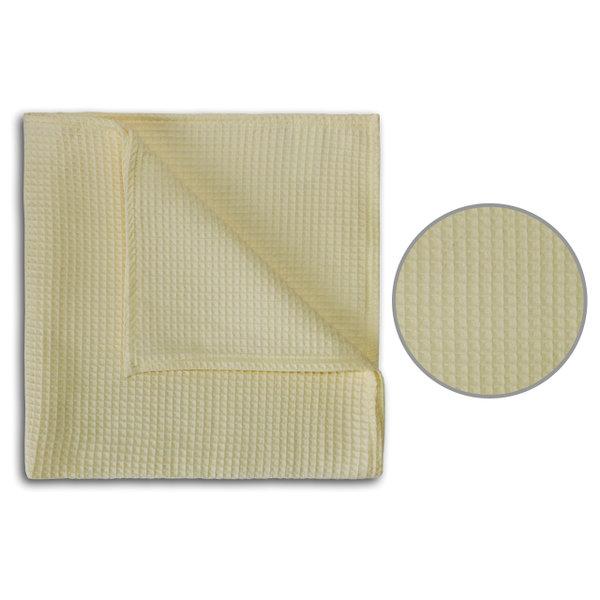 полотенце вафельное 48х90см молоко