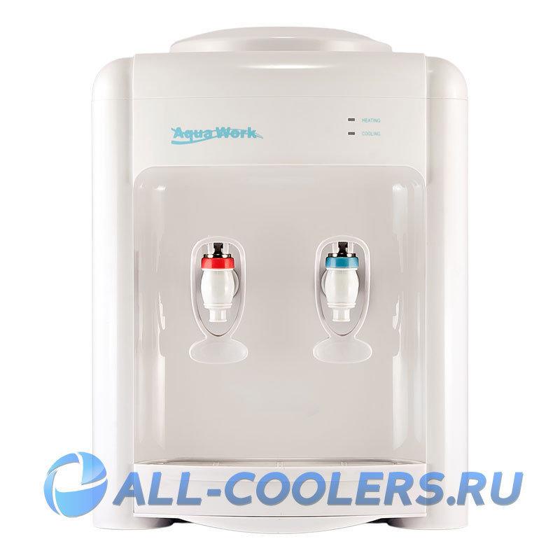 Кулер для воды настольный Aqua Work 36-ТDN белый