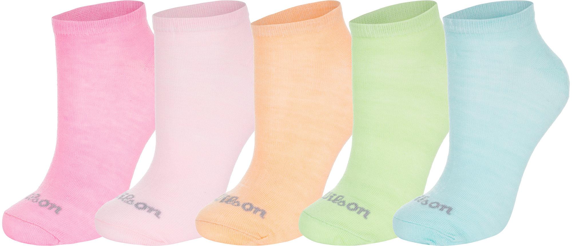 Носки женские Wilson Solids, 5 пар