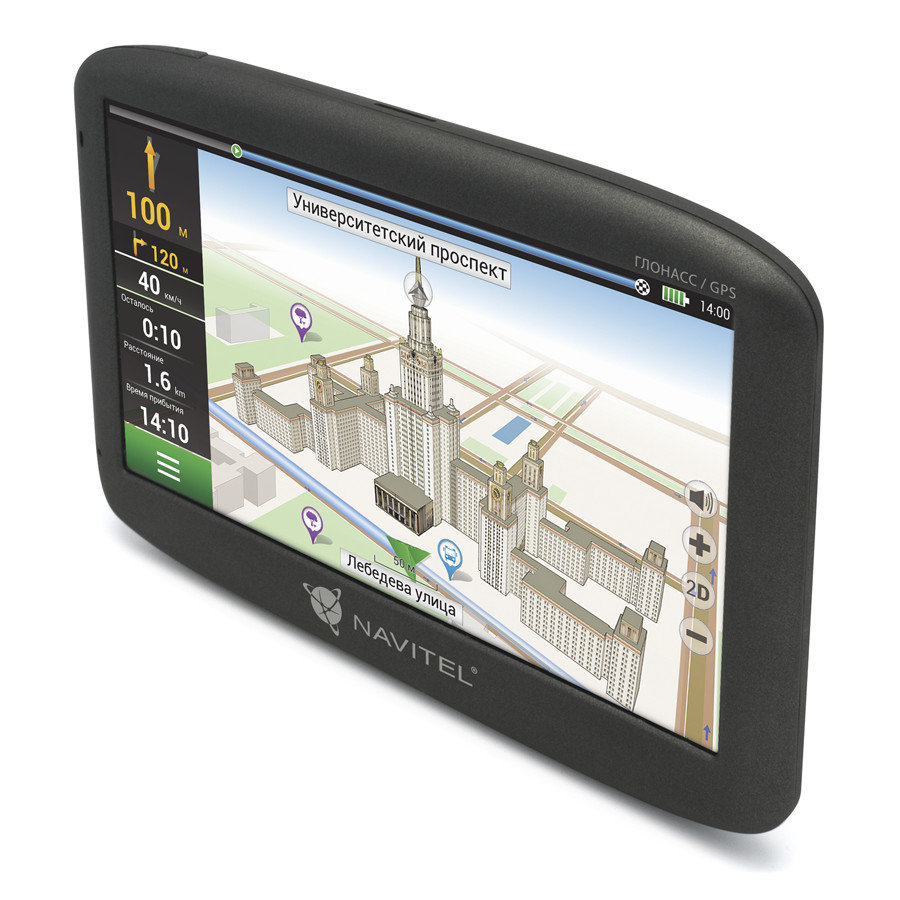 Навигатор Navitel G500 с предустановленным комплектом карт