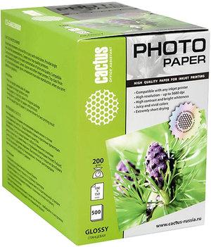 Фотобумага Cactus CS-GA6200500 A6/200г/м2/500л