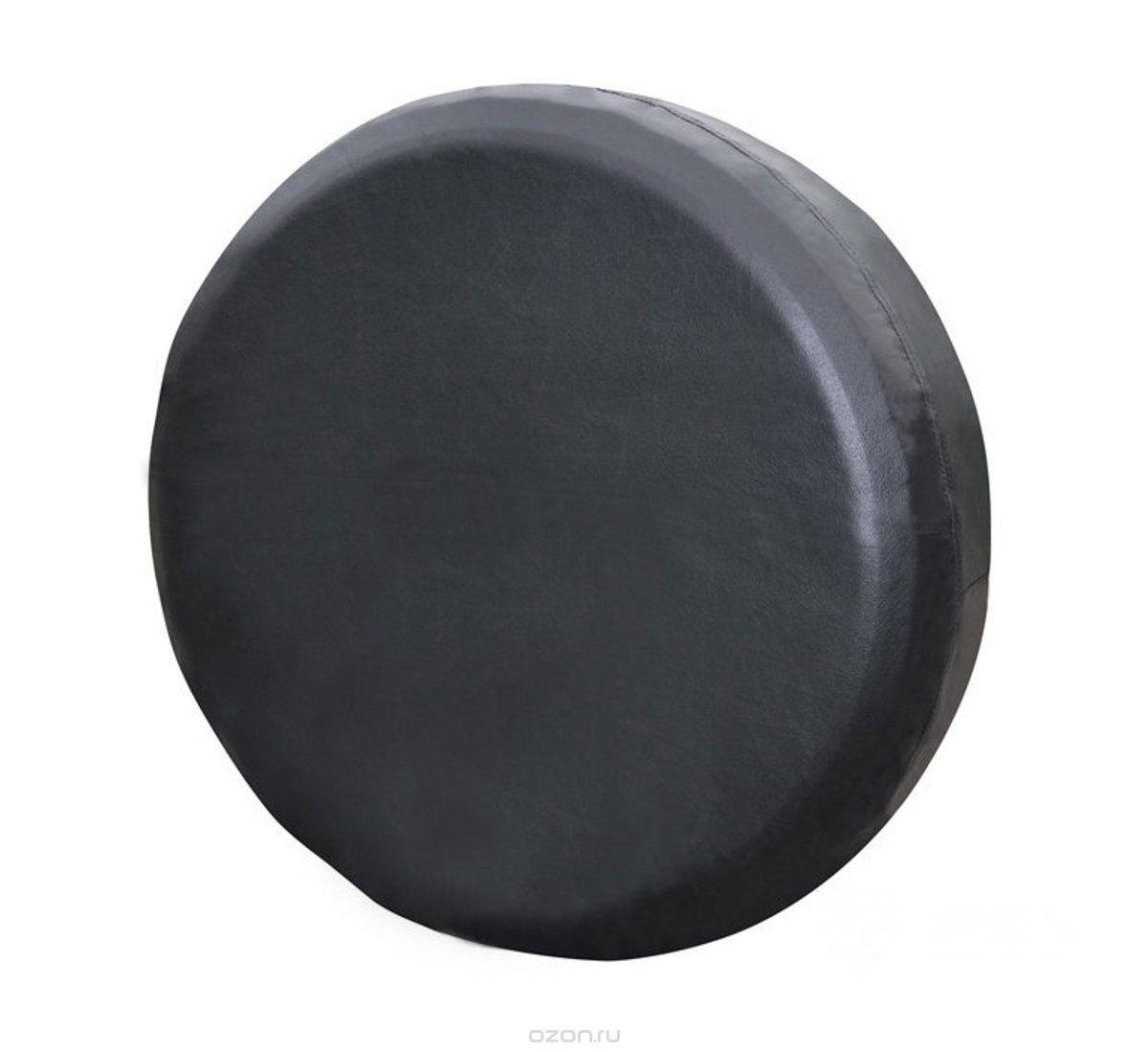 """Чехол на запасное колесо """"Auto Premium"""", цвет: черный. Размер M (69,5-73,5 см)"""