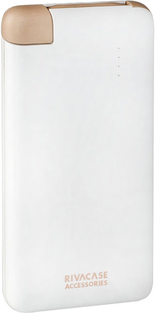 Портативное зарядное устройство Riva Power VA2004 4000мАч (белый)