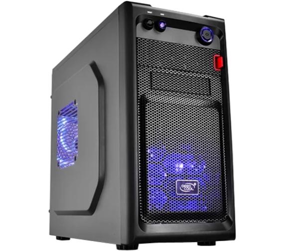 Компьютер ТоргПК Basic 098193 (Intel Core i7-8700 3200МГц/Intel H310/4Гб DDR4 2666МГц/120Гб SSD/NVIDIA GeForce GTX 1050 2048 Мб GDDR5/DVD-нет/Deepcool Smarter LED/500W/DOS)