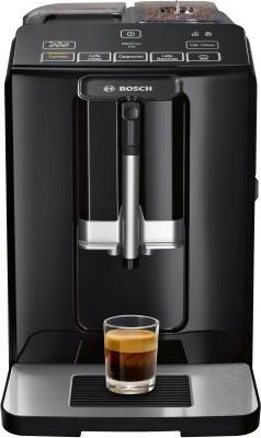 Кофеварка и кофемашина Кофемашина Bosch TIS30129RW черный