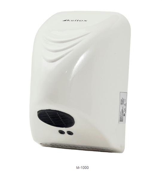 Сушилка для рук сенсорная Ksitex M-1000 пластик белый