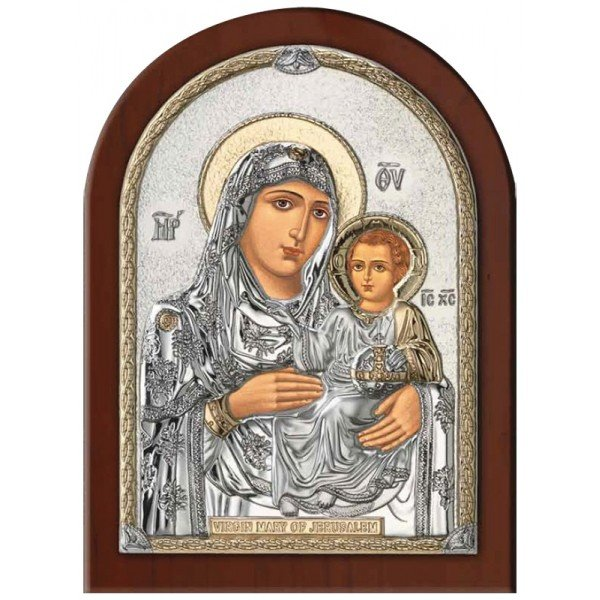 Иерусалимская Икона Божией Матери, Размер 8х11