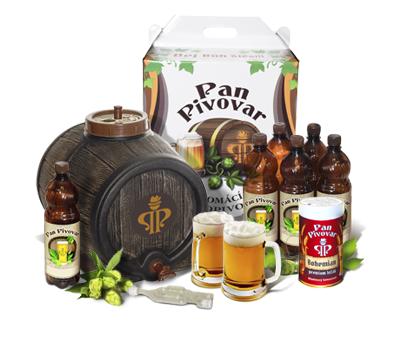 Домашняя пивоварня Pan Pivovar с дополнительным солодовым экстрактом Pan Pivovar