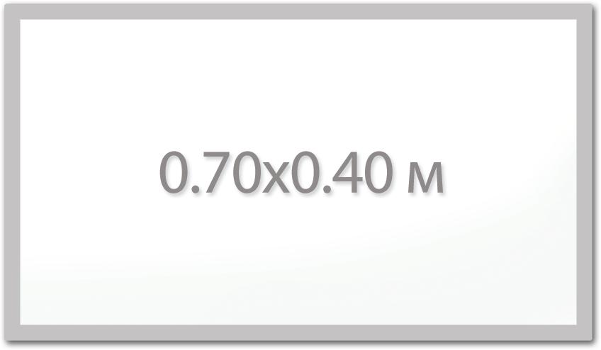 Магнитная доска 0.7х0.4 м.,  Стандарт  ИП Севостьянов Магнитная доска 0.7х0.4 м.,  Стандарт 