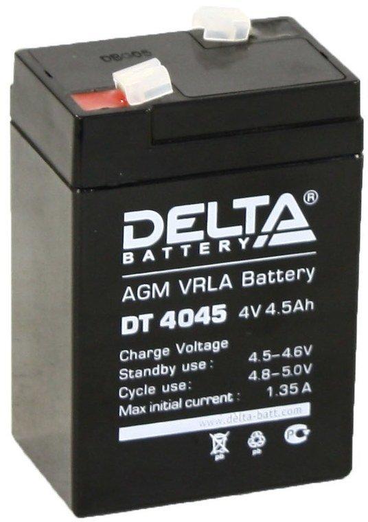 Тяговый аккумулятор Delta battery DT 4045