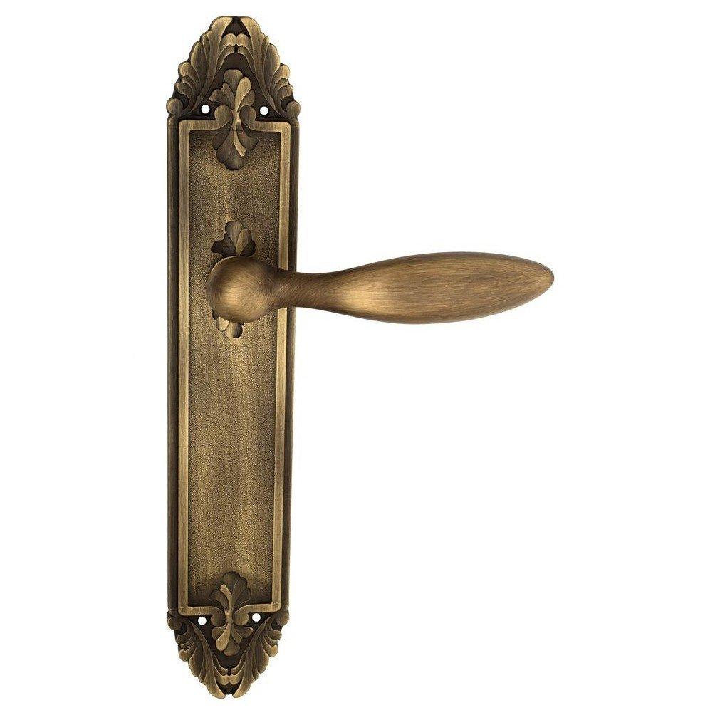 Дверная ручка на планке Maggiore PL90 Venezia Матовая бронза