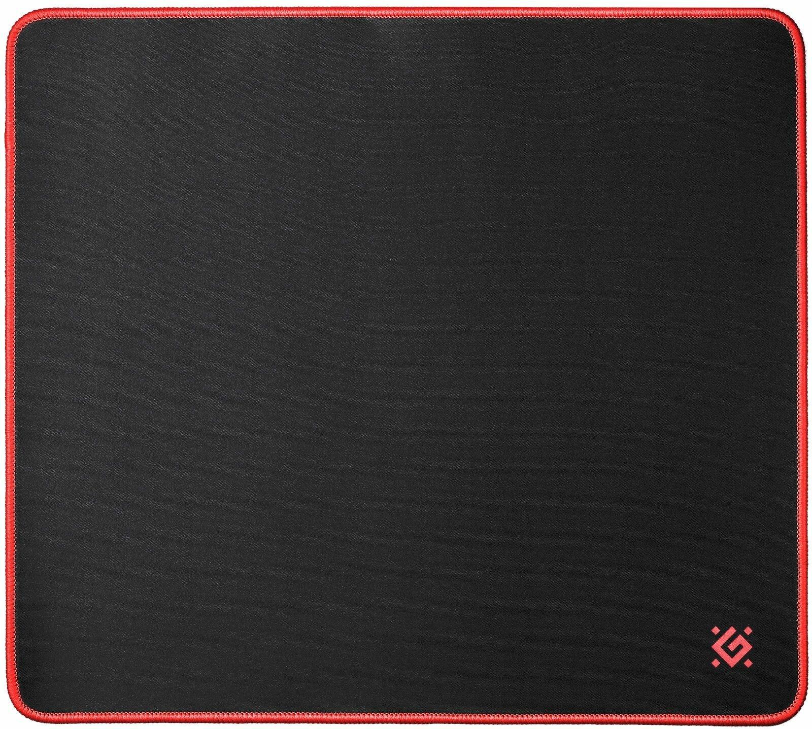 Игровой коврик Defender Black XXL 400x355x3 мм, ткань+резина