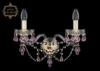 Настенный светильник Bohemia Art Classic 10.24.2.165.Gd.V7010 11.24