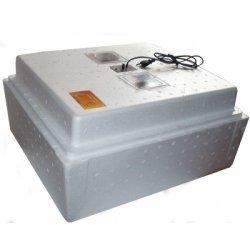 Инкубатор для яиц Несушка БИ-1 на 63 яйца с автоматическим переворотом и аналоговым терморегулятором (12/220В)