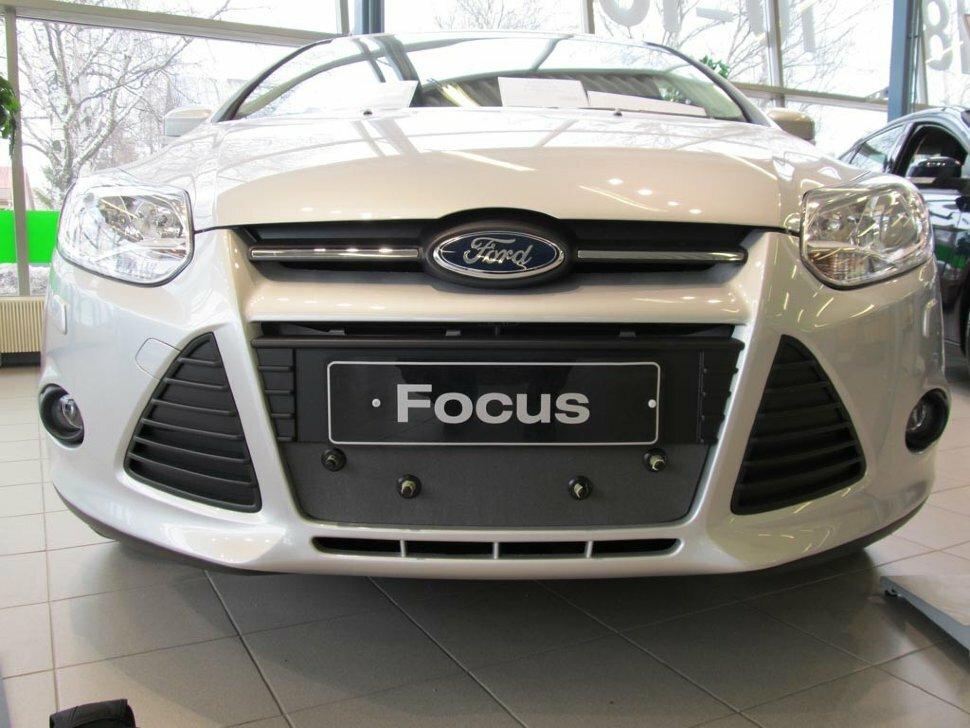 Утеплитель радиатора для Ford Focus III 2011-2014 Артикул TS118