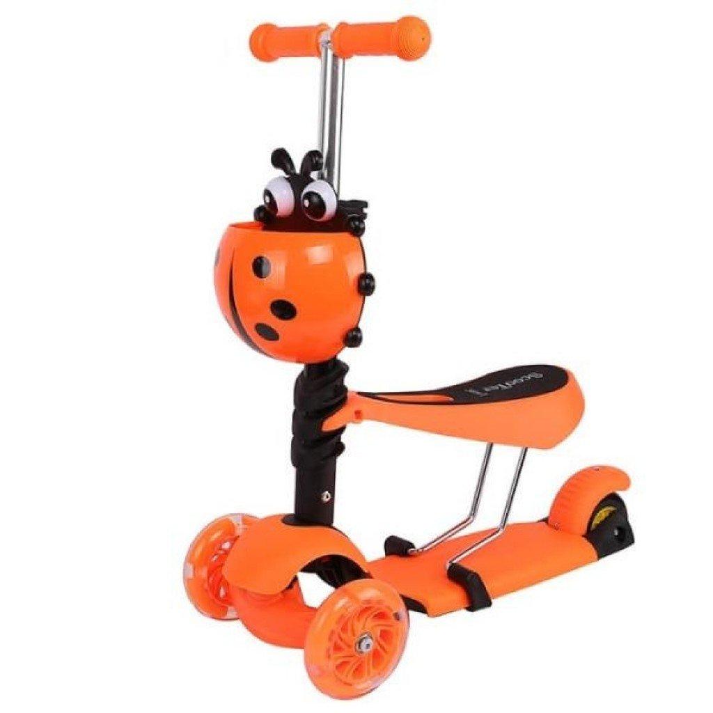 Scooter 3 в 1 оранжевый