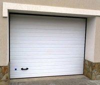 Секционные ворота для гаража Дорхан (пружинное управление) 2750мм х 2390мм