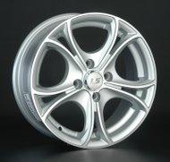 Диски LS Wheels 393 7,5x17 5x114,3 D73.1 ET45 цвет SF (серебро,полировка) - фото 1