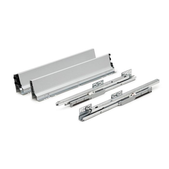 Тандембокс TEN H90 серый, на направляющих Excel, 500 мм, FGV