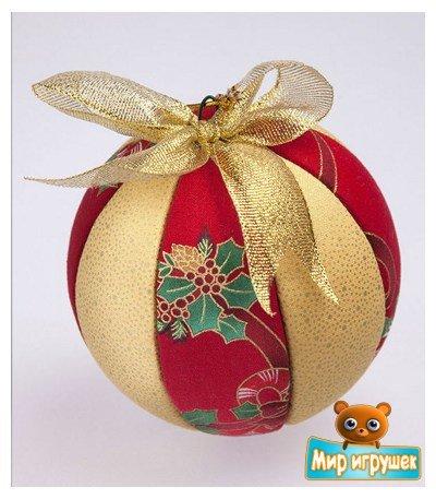 """Набор для творчества """"Кинусайга. Новогодний шар"""", диаметр 10 см"""