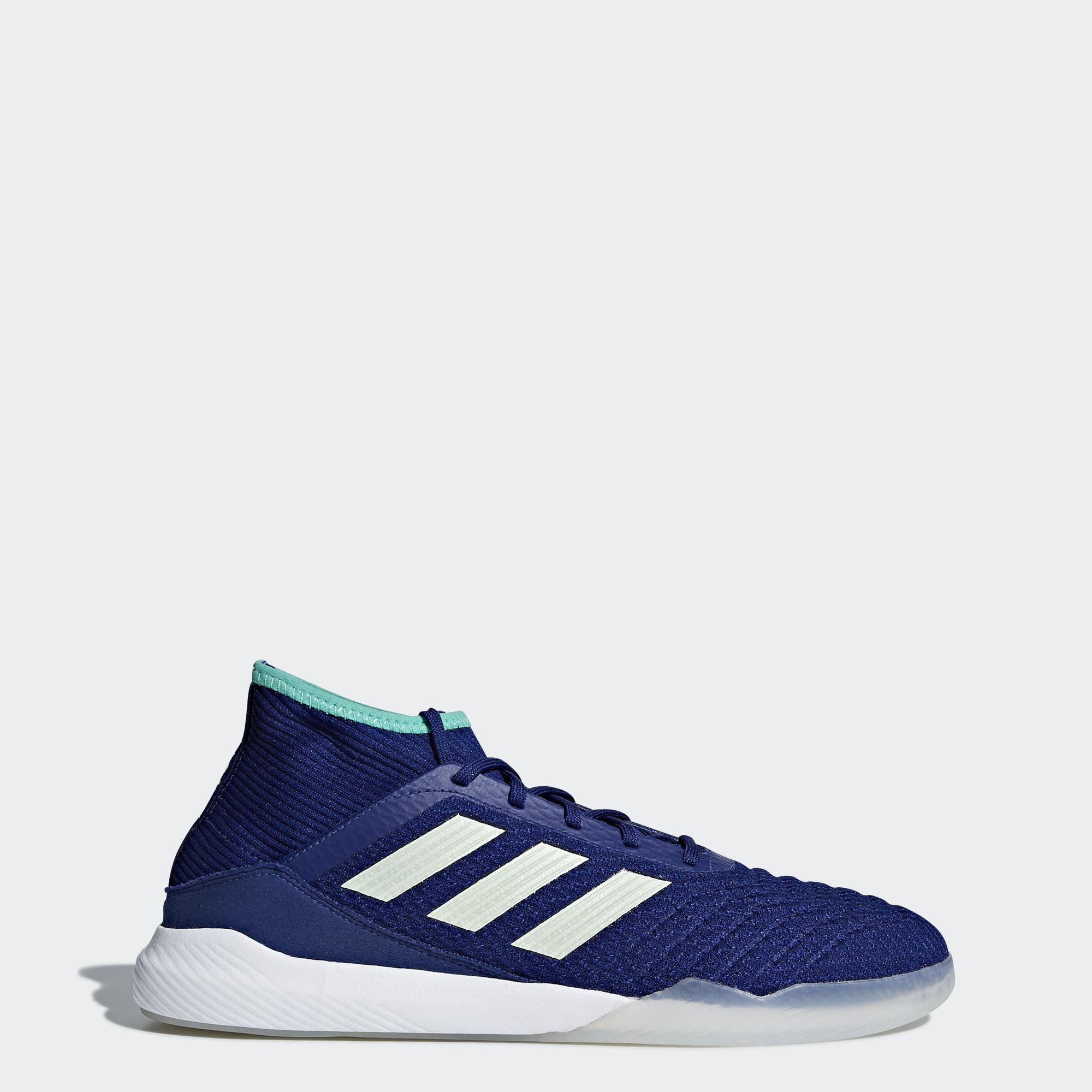 Футбольная обувь Predator Tango 18.3 adidas Performance Unity Ink/Aero Green/Ftwr White