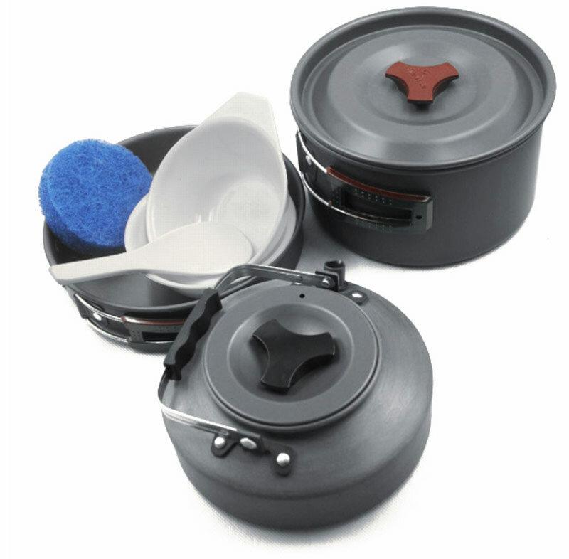 Набор портативной посуды Fire-maple Fmc-204 на 2-3 чел.