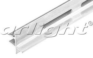 Алюминиевый профиль-держатель для стекла 8мм, TOP-GLASS8-3D-2000