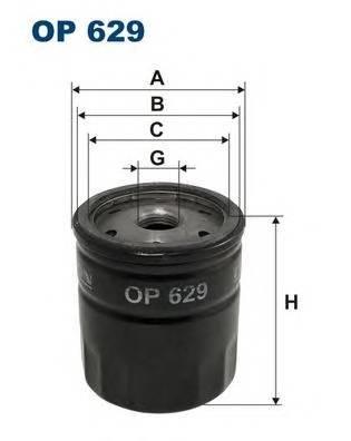 Масляный фильтр Filtron OP629