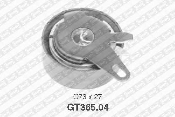 Ролик натяжной ремня грм vw t4/lt28-46, volvo s70/s80 2.5tdi 95 Snr GT36504