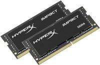 Модуль памяти SODIMM DDR4 32GB (2*16GB) Kingston HX426S15IB2K2/32 HyperX Impact PC4-21300 2666MHz CL15 1.2V DR XMP Радиатор RTL