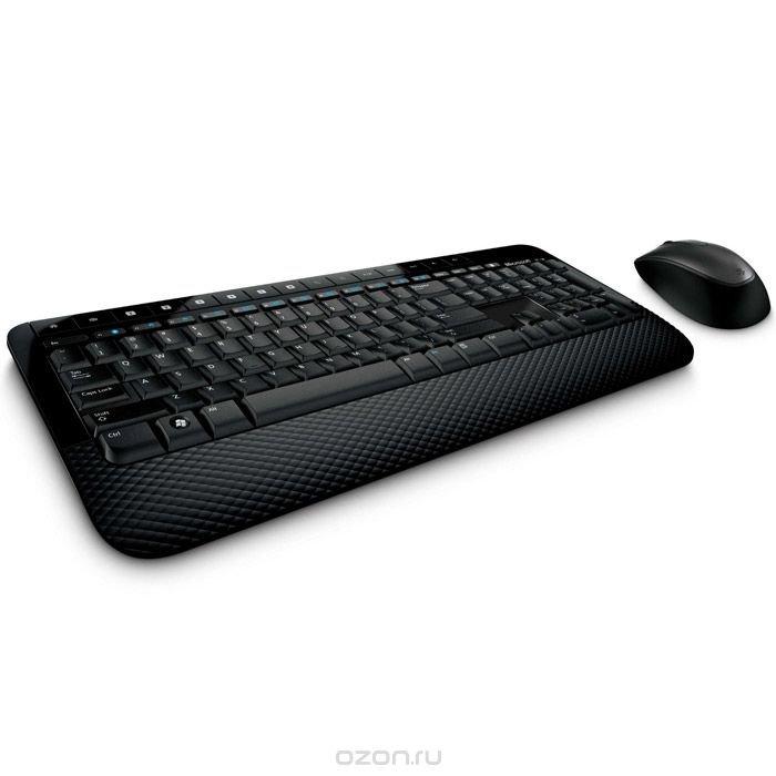 Microsoft Wireless Desktop 2000, Black (M7J-00012) клавиатура + мышь