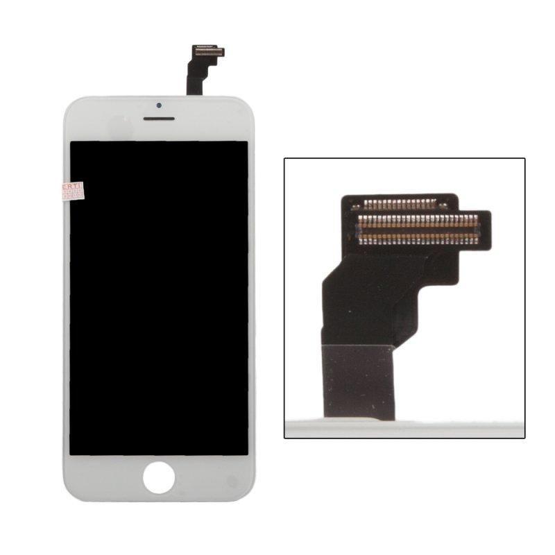 Дисплей с тачскрином LP для iPhone 6, (AAA) 1-я категория, белый