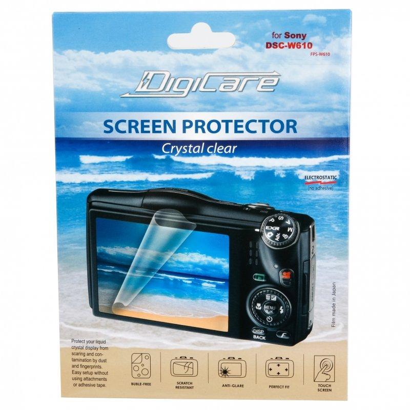 "Sony Защитная пленка для Sony DSC-W610 / 2.7"""