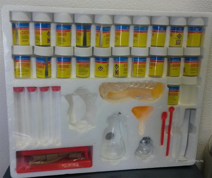 Набор для исследований Edu Toys CM002 Химическая лаборатория