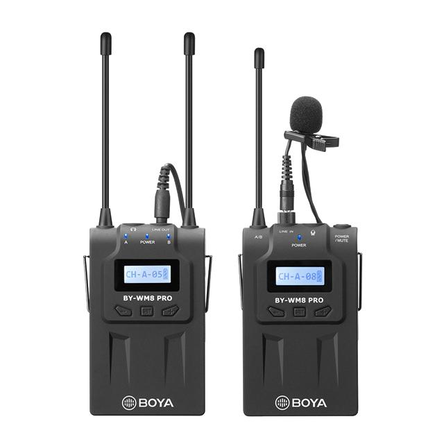 Радиосистема BOYA BY-WM8 Pro-K1 (1 трансмиттер + 1 ресивер)