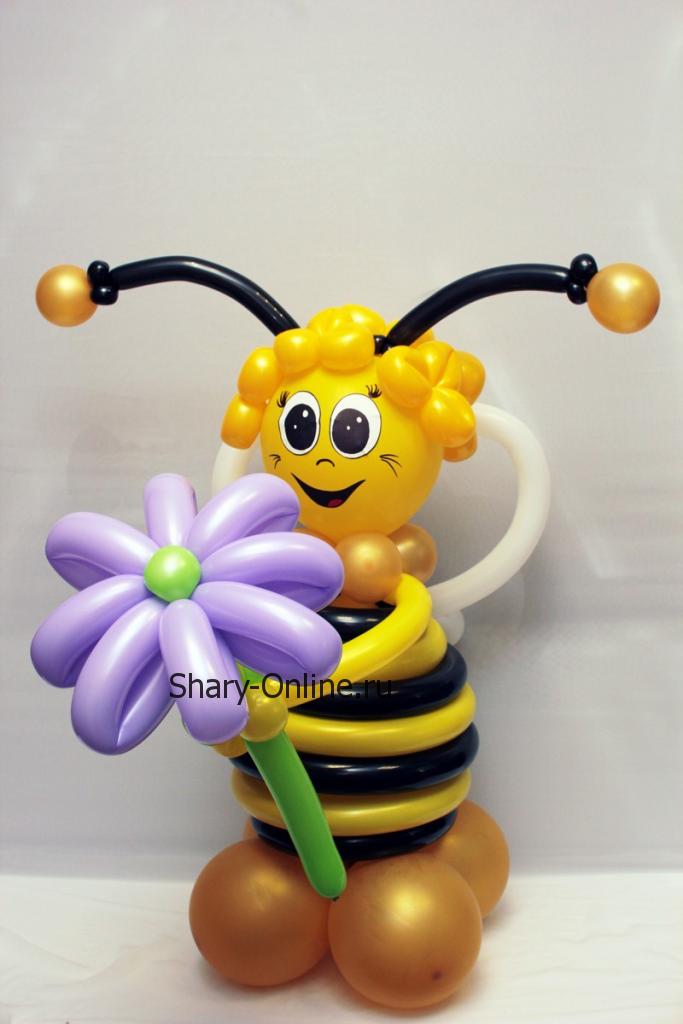 Воздушный шар фигура «Пчёлка»