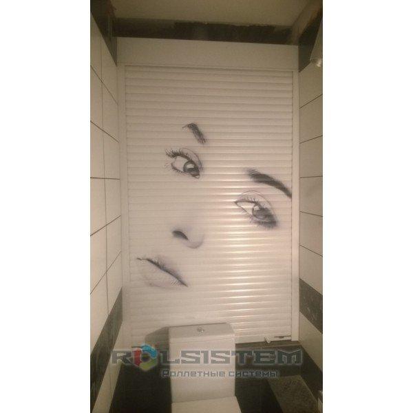 Рольставни 1000х1600 в туалет, санузел, ванную (сантехнические роллеты)