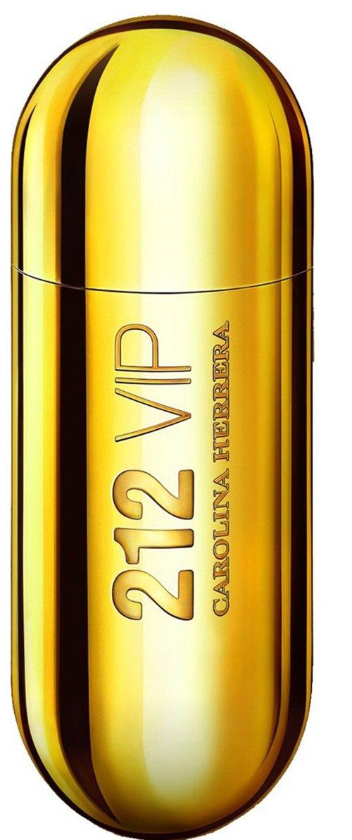 Парфюмированная вода Carolina Herrera 212 VIP (золото) для женщин 80 мл.
