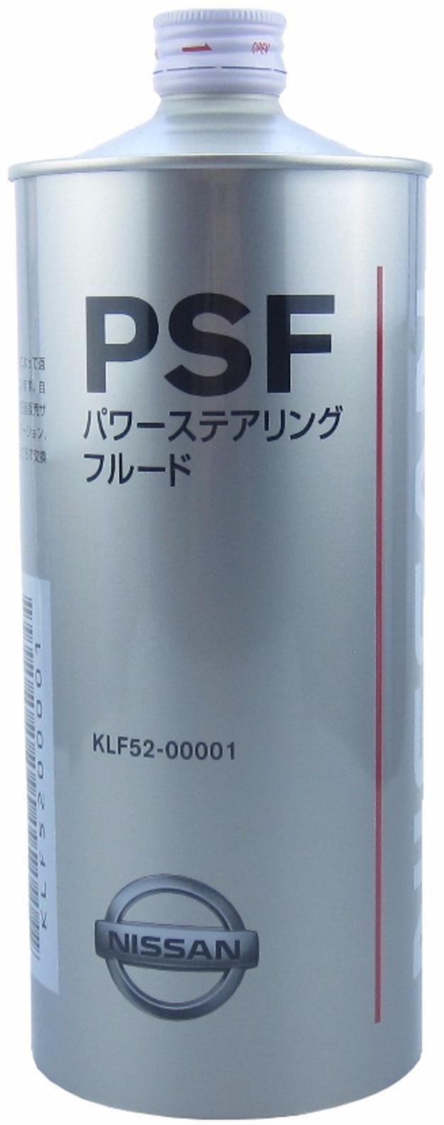 Жидкость для гидроусилителя руля NISSAN PSF 1л