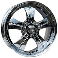 Racing Wheels HF-611 10x22 5x130 ET 45 Dia 71.6 хром - фото 1
