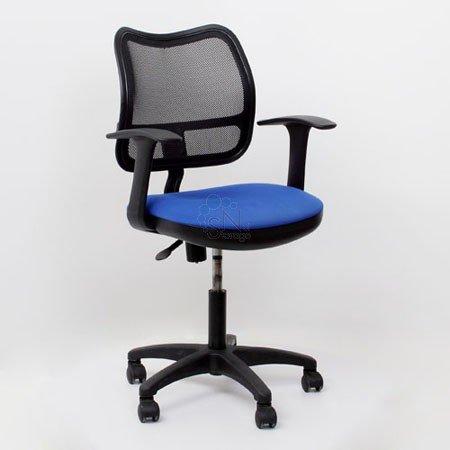 Кресло операторское CH-797 AXSN черно-синее 26-21 Т-образн. подл.