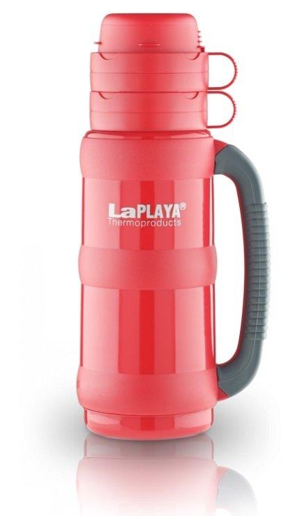 Термос со стеклянной колбой LAPLAYA Traditional 35-50 0.5 L, красный