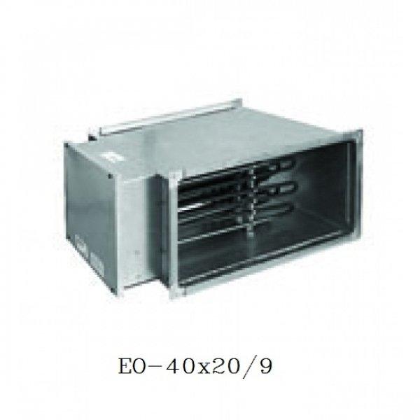 Канальный нагреватель воздуха для прямоугольных каналов Airone ЕО-40х20/9