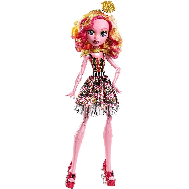Monster High Mattel Кукла Гулиопа Джелингтон из серии Фрик ду Чик, Монстр Хай
