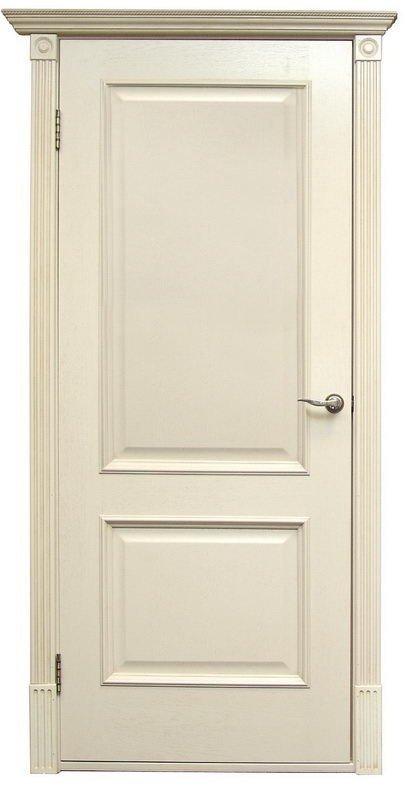 Межкомнатные двери Дверной Лидер Классик Версаль Патина ваниль ПГ